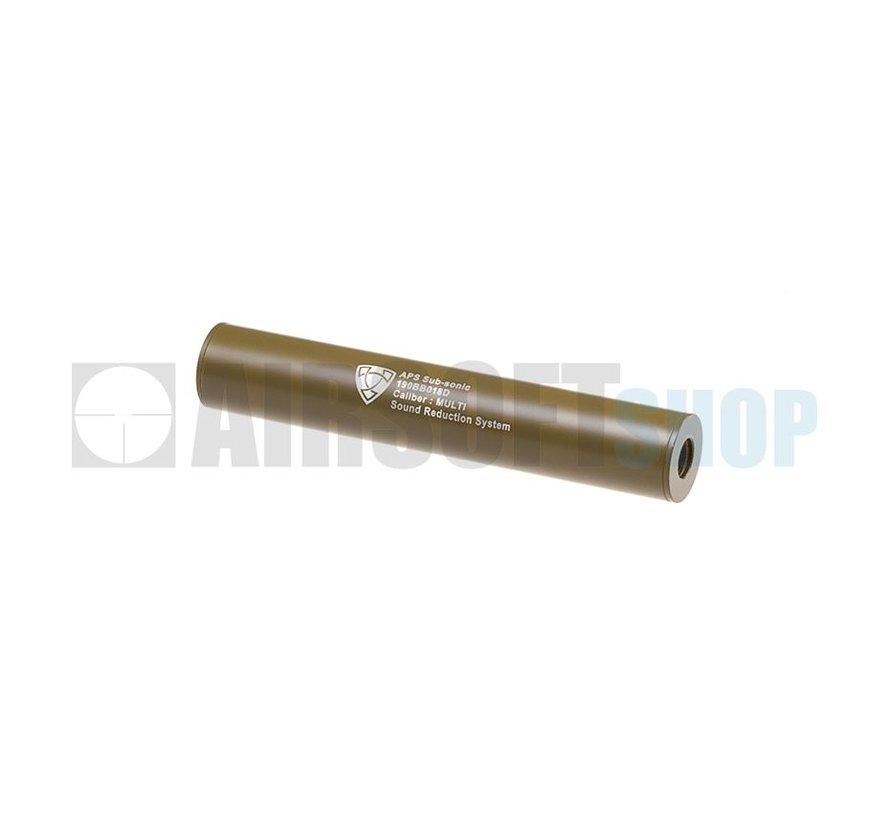 190mm Silencer CCW (Dark Earth)