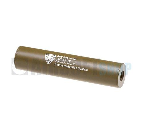 APS 150mm Silencer CCW (Dark Earth)