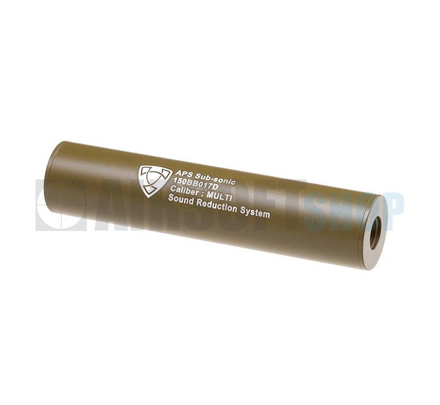 150mm Silencer CCW (Dark Earth)