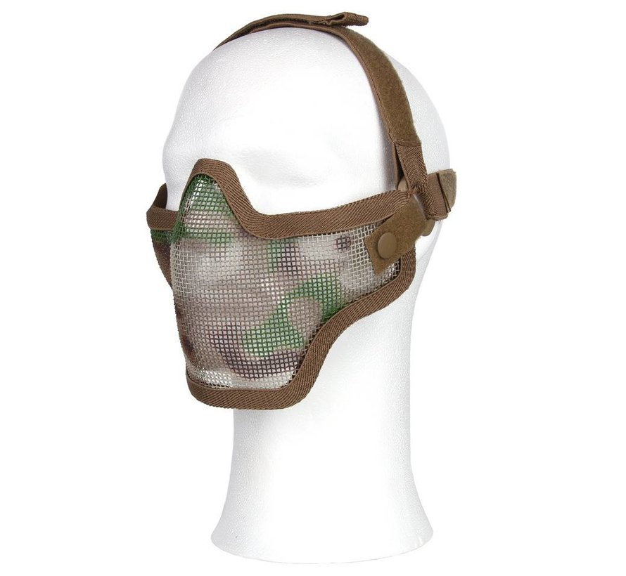 Half Face Mesh Mask (Multicam)