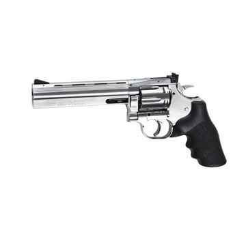 """ASG Dan Wesson 715 - 6"""" Silver (Low Power)"""