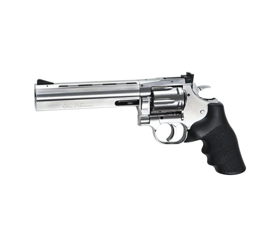 "Dan Wesson 715 - 6"" Silver (Low Power)"