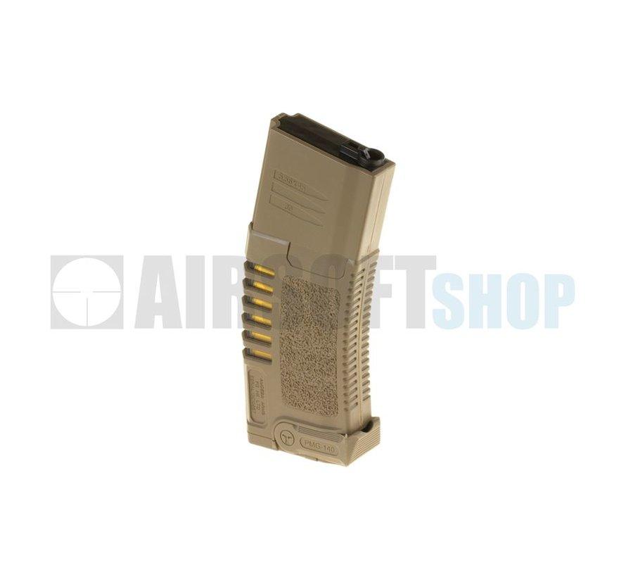 Amoeba M4 Midcap Mag 140rds (Tan)