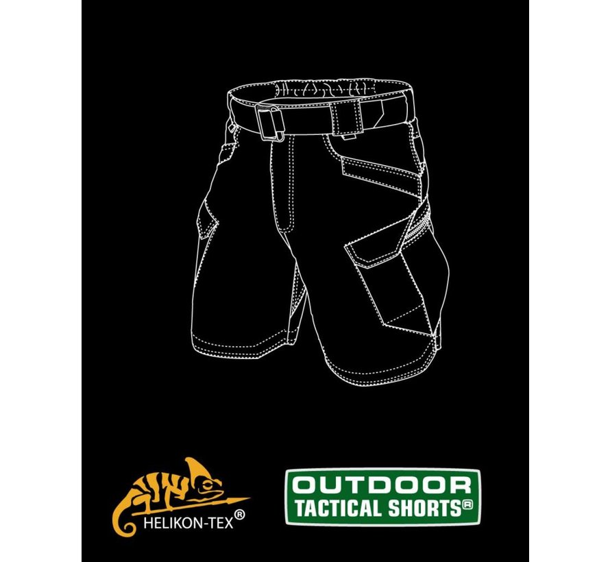 Outdoor Tactical Shorts (Mud Brown)