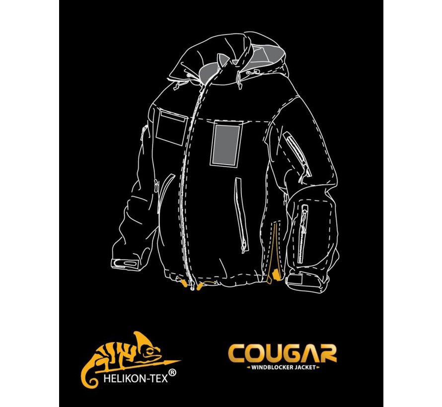 Cougar QSA Jacket (Navy Blue)