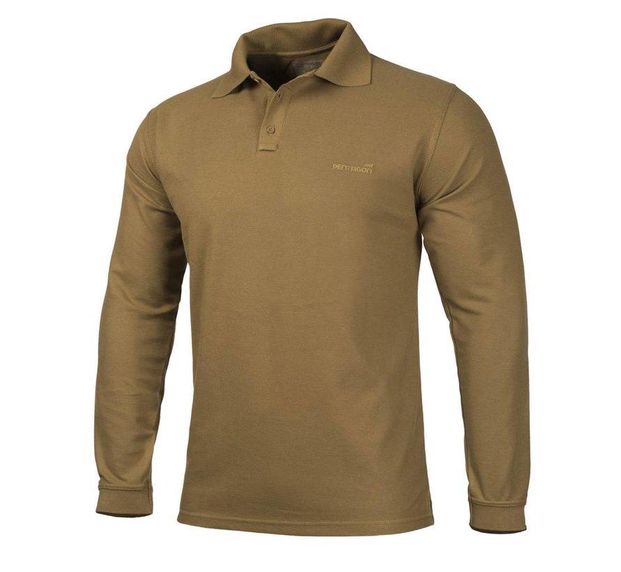 Polo Shirt 2.0 Long Sleeve (Coyote)