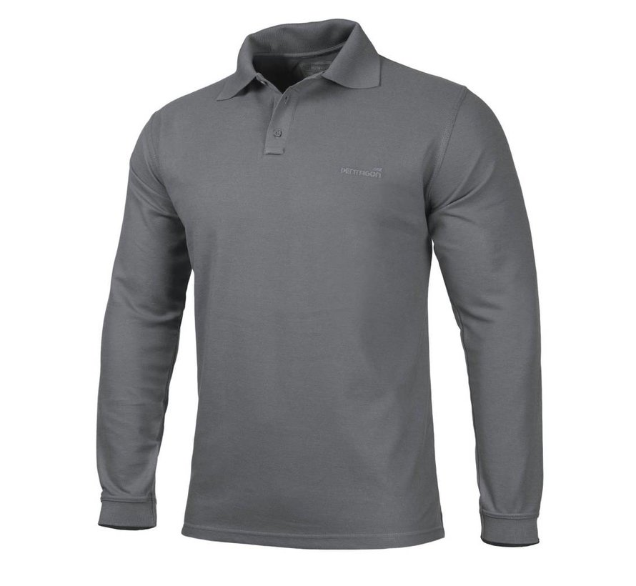 Polo Shirt 2.0 Long Sleeve (Sage)