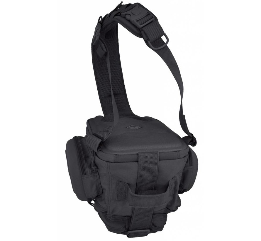 Holmes Chest Slingbag (Black)