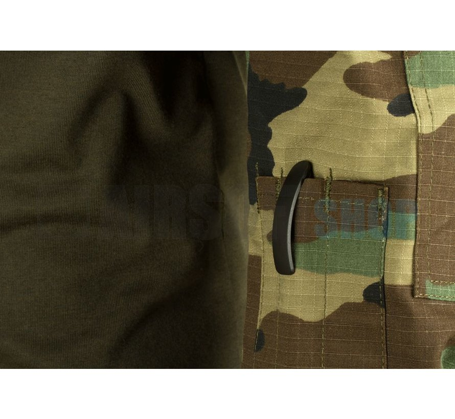 Revenger Combat Shirt (Woodland)