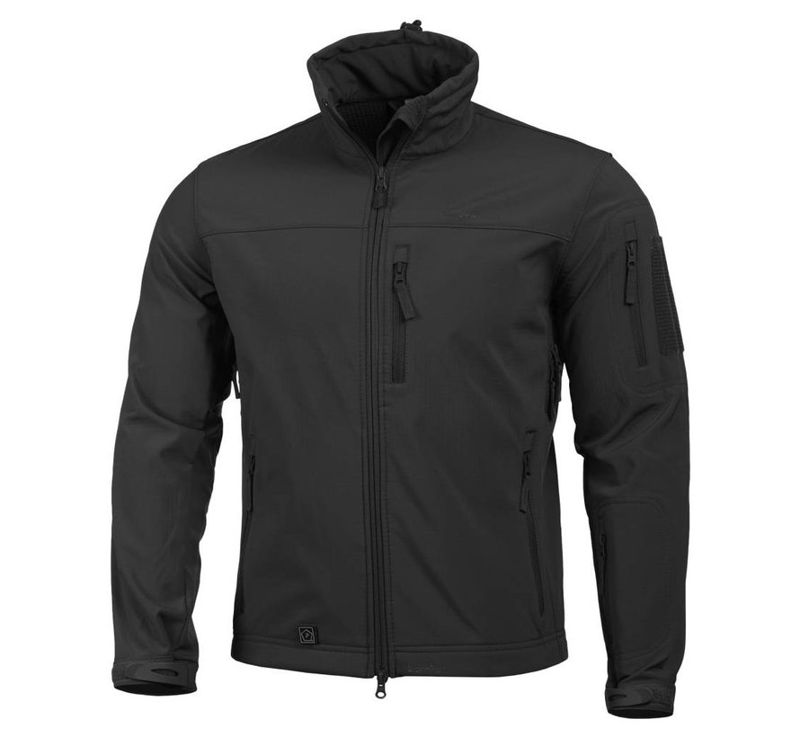 Reiner Softshell Jacket (Black)
