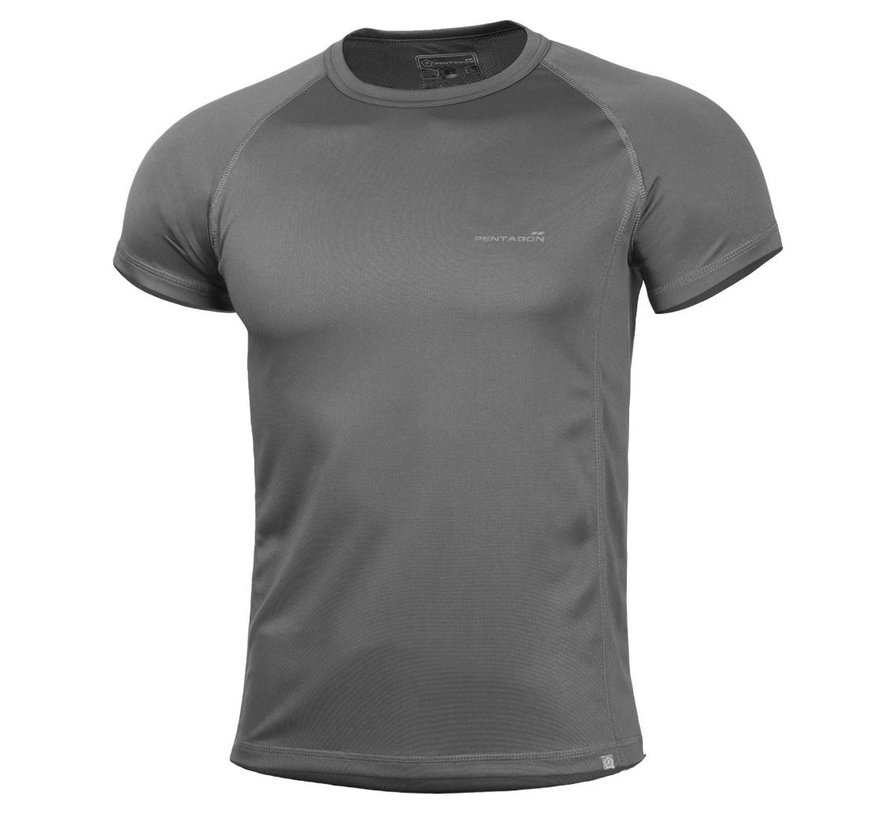 Quick Dry Body Shock T-Shirt (Cinder Grey)