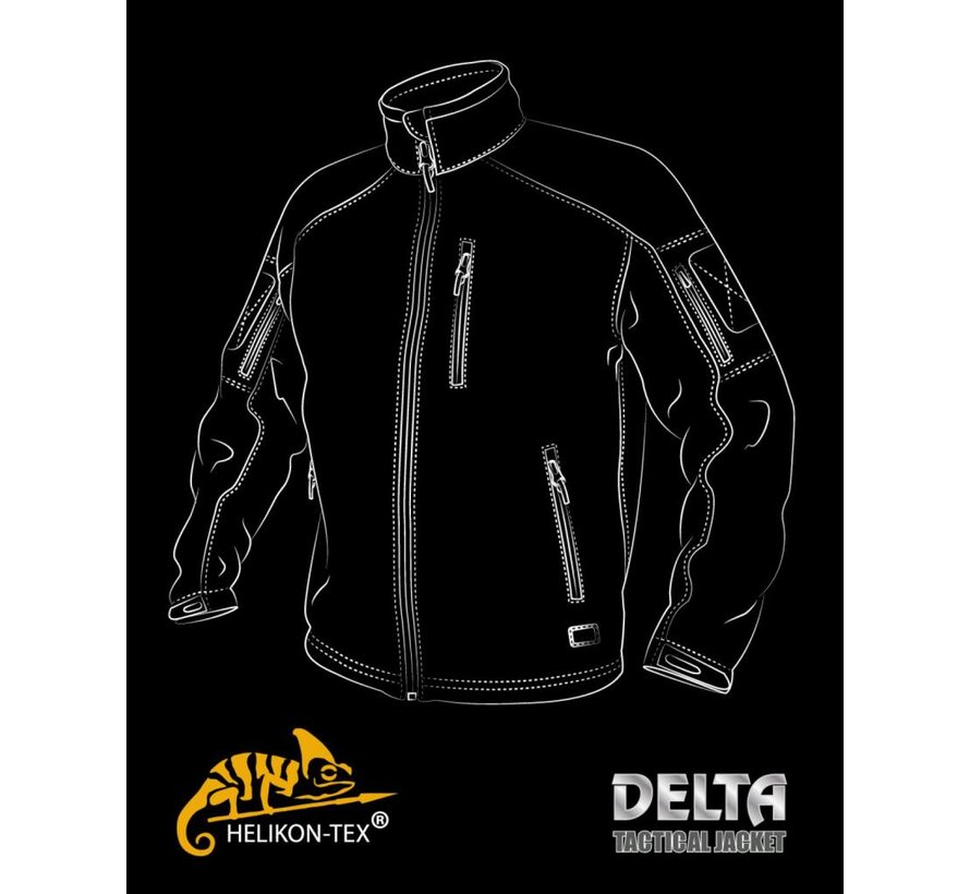 Delta Tactical Jacket (Coyote)