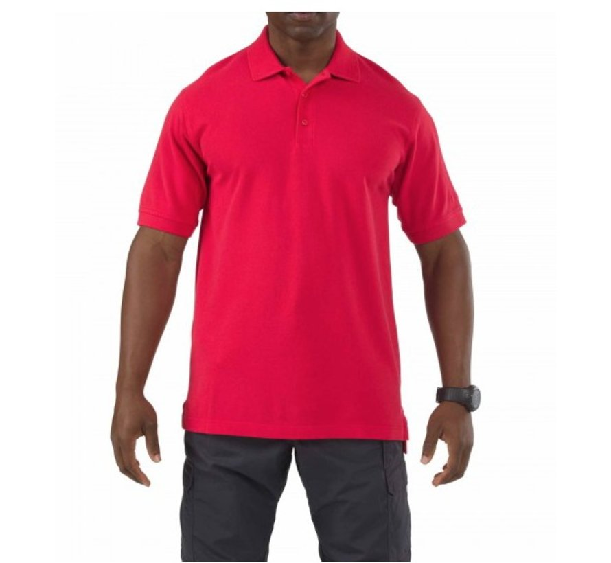 Professional Short Sleeve Polo (Range Red)