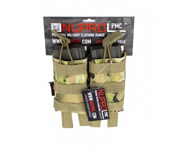 NUPROL PMC M4 Double Open Mag Pouch (NP Camo)