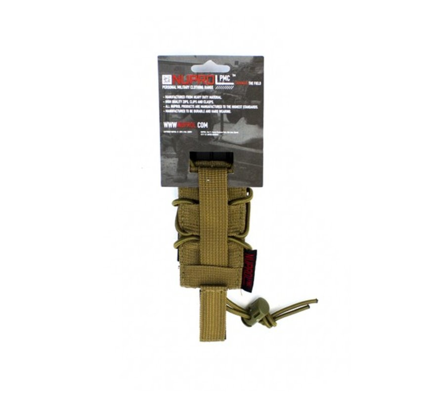 PMC Pistol Open Top Pouch (Tan)