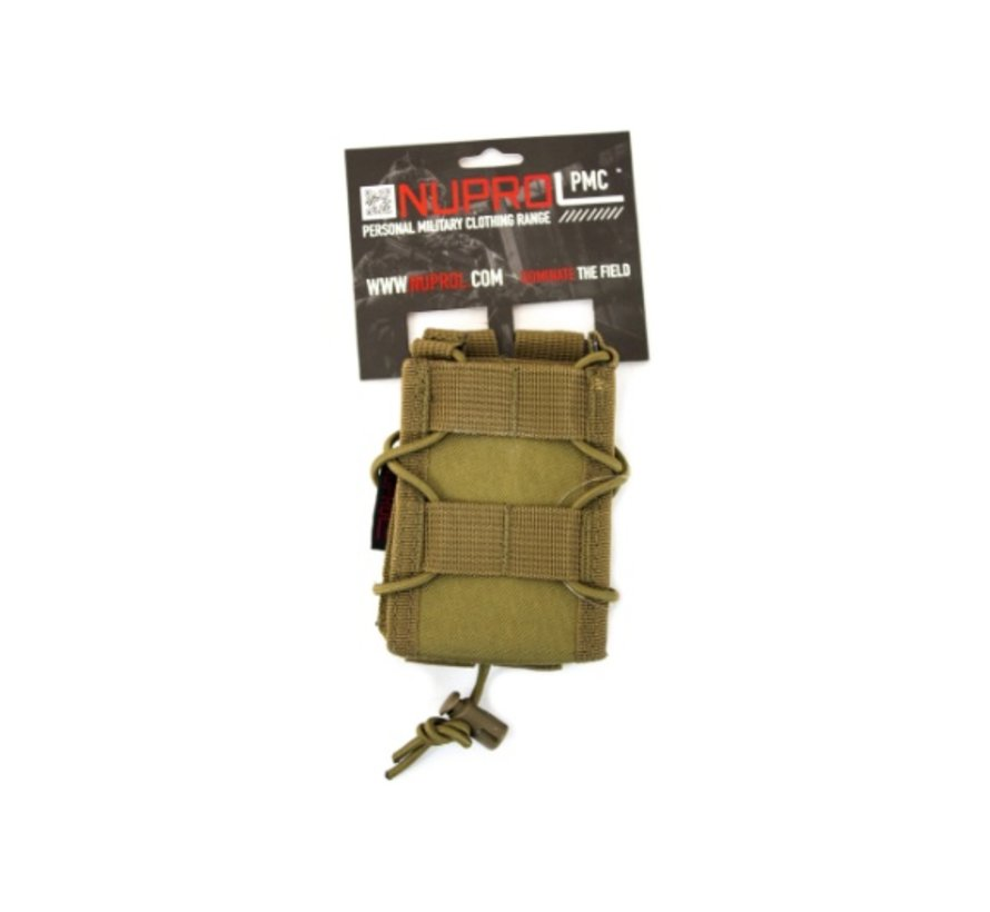 PMC Rifle Open Top Pouch (Tan)