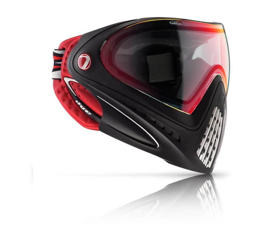 Goggle i4 Dirty Bird (Red/Black)