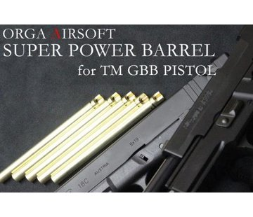 Orga Hi-Capa 5.1 / 1911 GBB Super Power 6.00mm Barrel