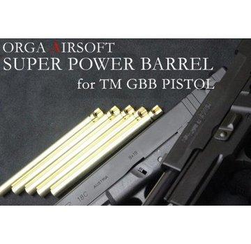 Orga G17/G18 GBB Super Power 6.00mm Barrel