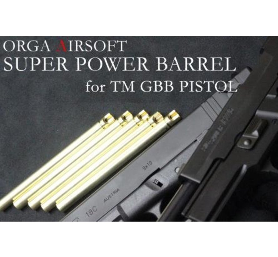 G17/G18 GBB Super Power 6.00mm Barrel