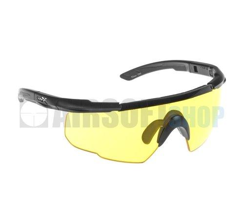 Wiley X Saber Advanced Yellow (Black Frame)