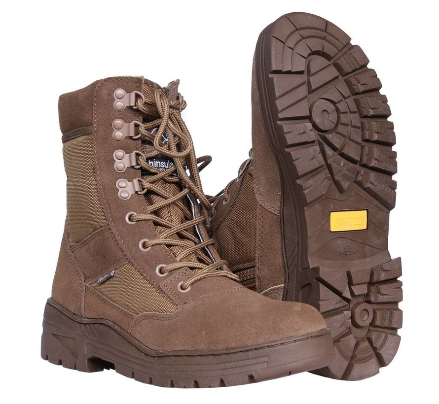 Sniper Boots SideZip (Coyote)