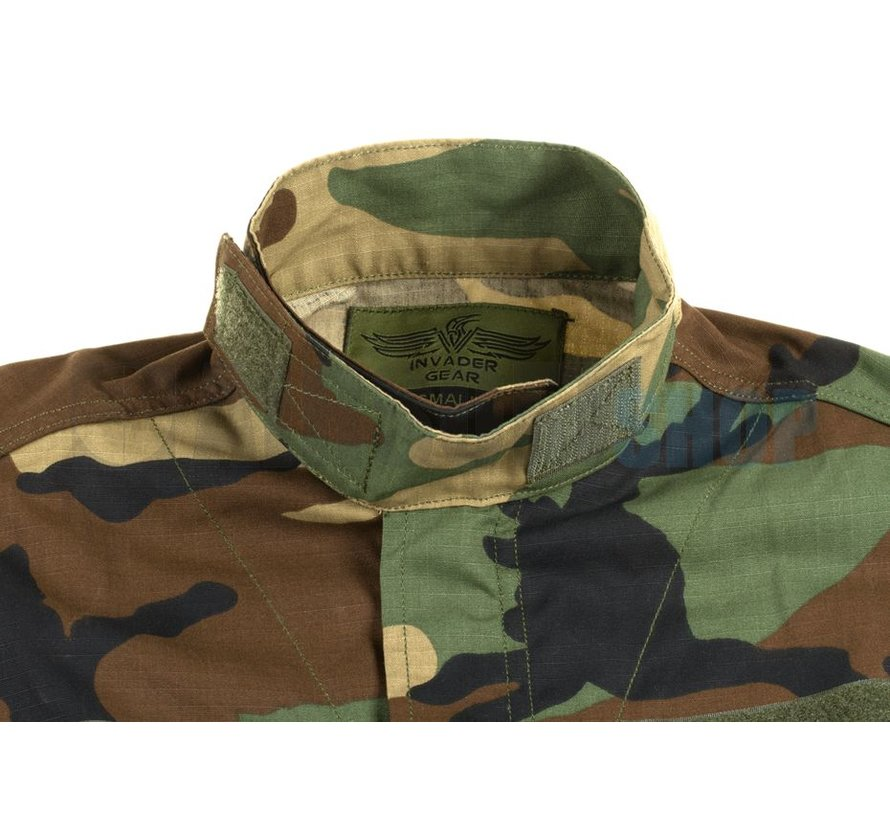Revenger TDU Shirt/Jacket (Woodland)