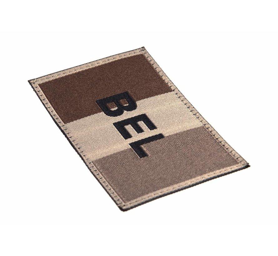 Belgische Vlag Patch (Desert)