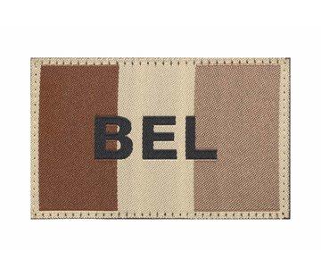 Claw Gear Belgische Vlag Patch (Desert)