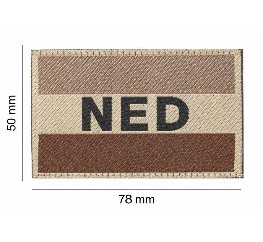 Nederlandse Vlag Patch (Desert)