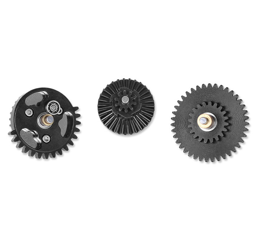 Smooth CNC Gear Set 18:1