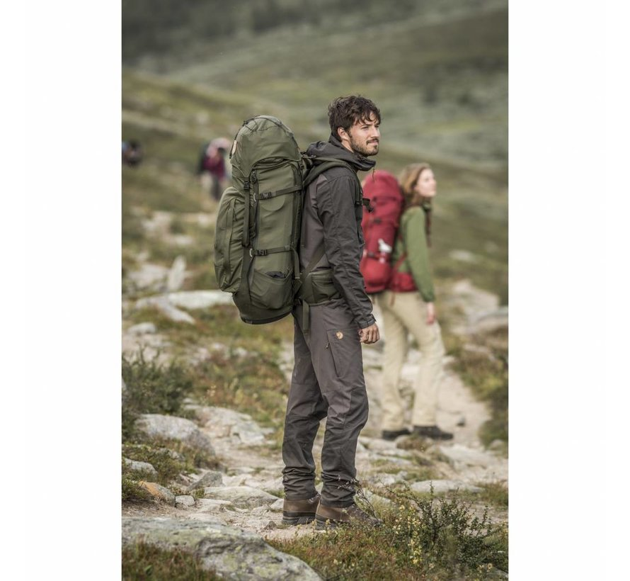Abisko 65 Backpack (Stone Grey)