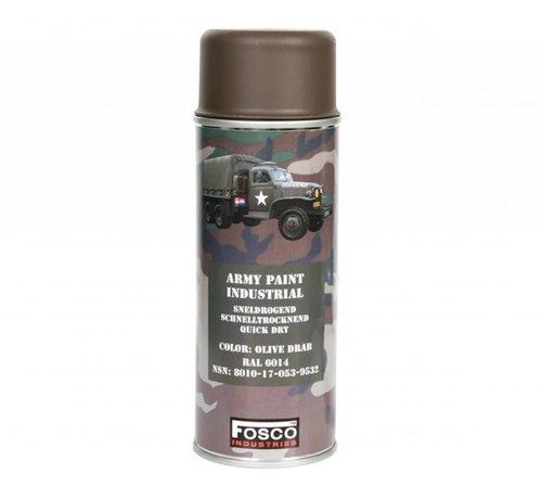 Fosco Spray Paint Olive Drab 400ml