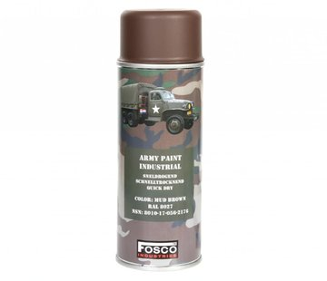 Fosco Spray Paint Mud Brown 400ml