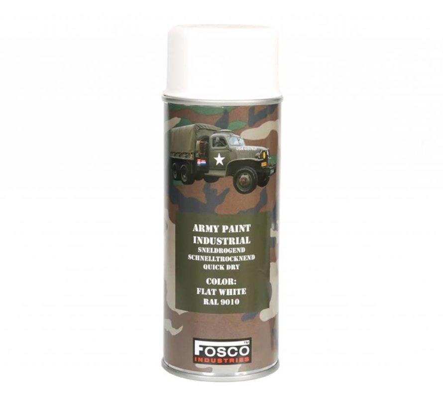 Spray Paint Flat White 400ml