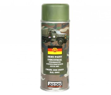 Fosco Spray Paint DDR Green 400ml
