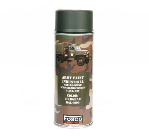 Fosco Spray Paint BW. Feld Grau 400ml