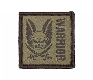 Warrior Velcro Patch (Dark Earth)