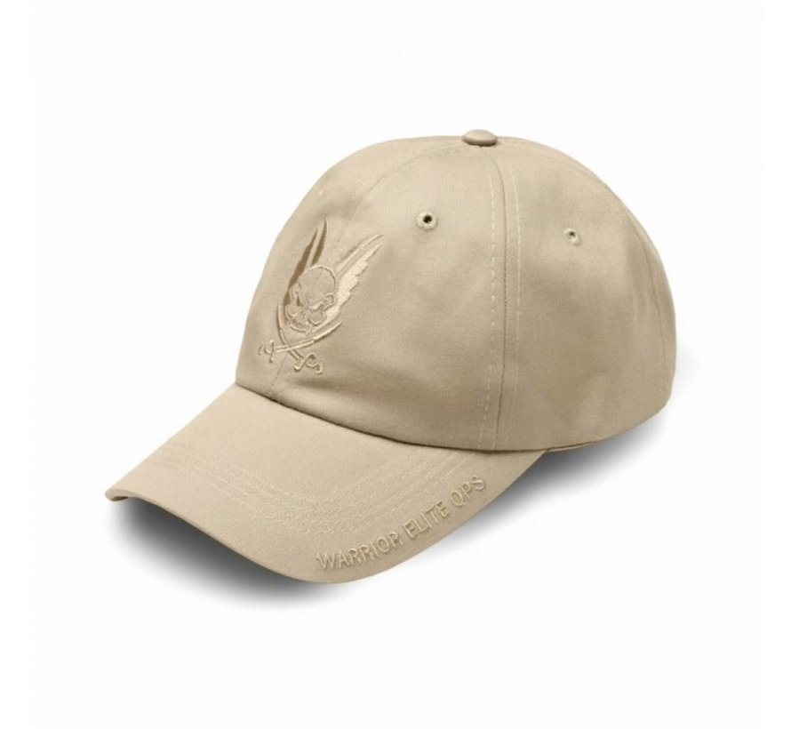 Logo Cap (Tan Embroidery)
