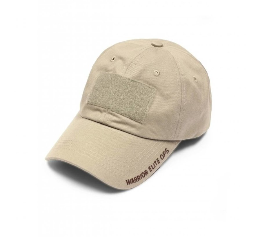 Velcro Cap (Coyote Tan Embroidery)