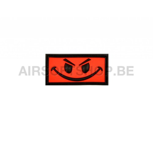 JTG Evil Smiley PVC Patch (Red)