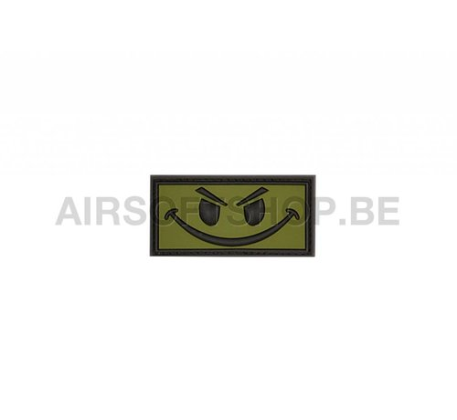 JTG Evil Smiley PVC Patch (Forest)