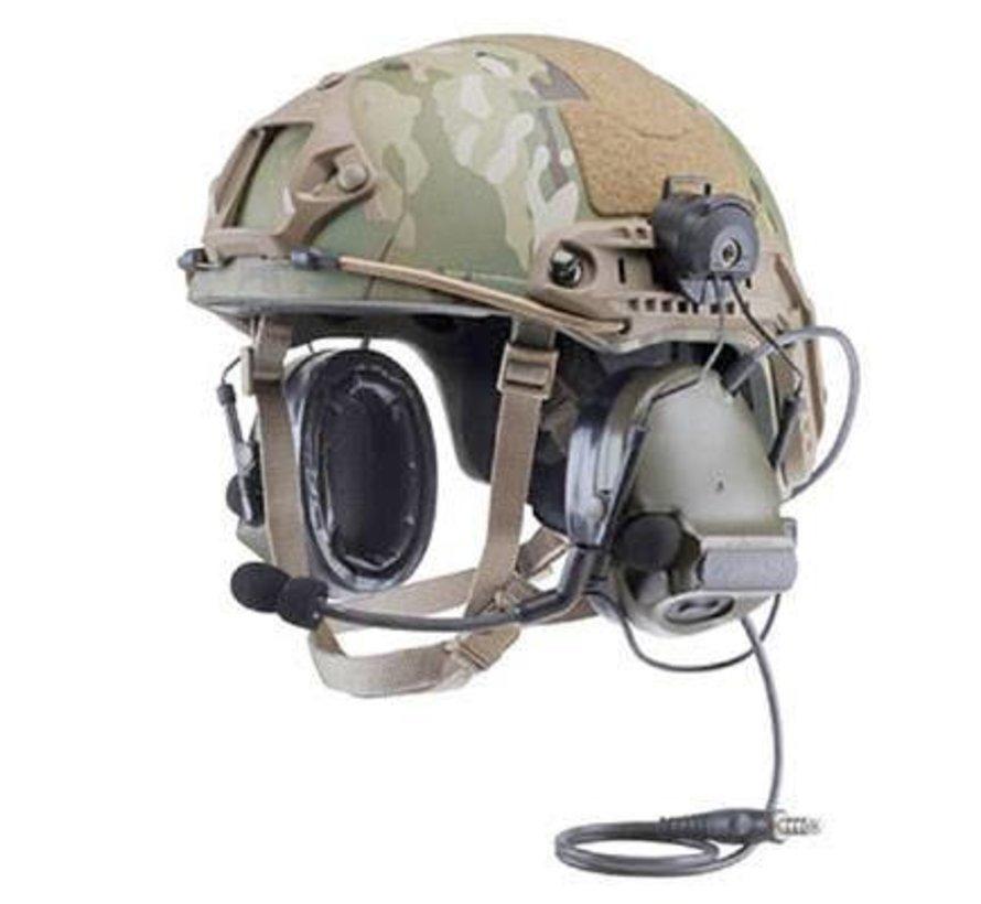 Comtac Helmet Rail Adapter (Black)