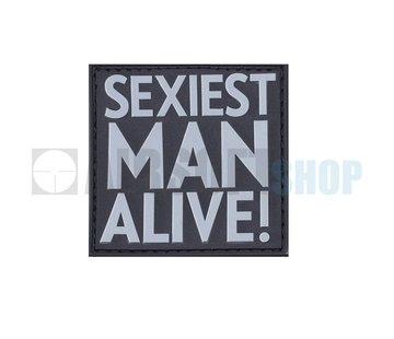 JTG Sexiest Man Alive PVC Patch (SWAT)