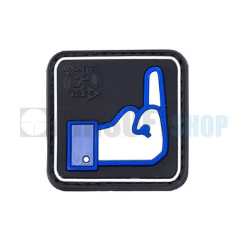 JTG Facebook Dislike PVC Patch