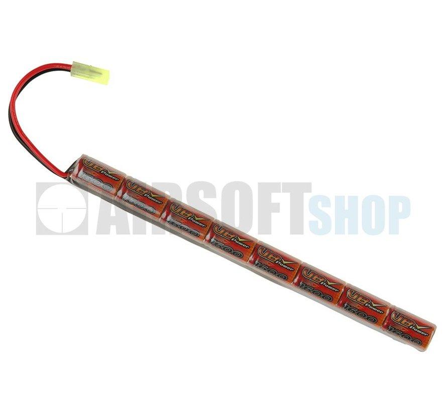 9.6V 1600mAh Stick Type