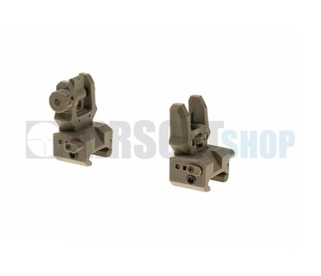 CAA Airsoft Low Profile Sight Set (Dark Earth)