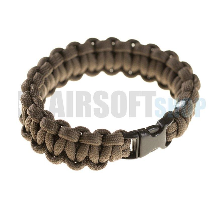Paracord Bracelet Compact (Gun Grey)