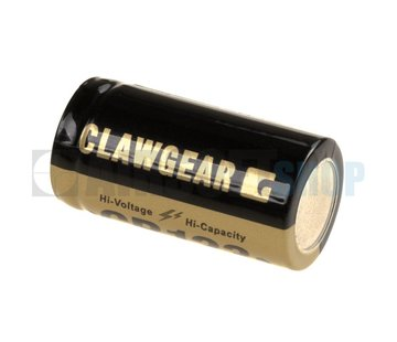 Claw Gear CR123 Lithium 3V Batterij