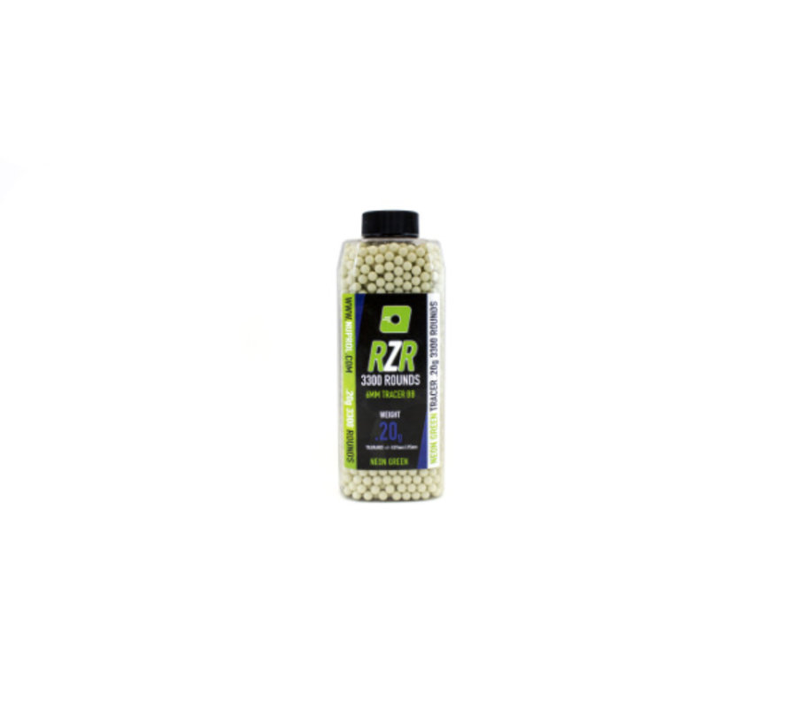 RZR Green Tracer BB 0,20g (3300rds)